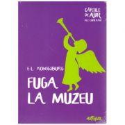 Fuga la muzeu ( editura: Art Grup editorial, autor: E. L. Konigsburg ISBN 978-606-788-246-9)