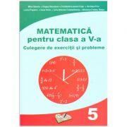 Matematica pentru clasa a V-a: Culegere de exercitii si probleme ( editura: Ars Libri, autori: Mihai Zaharia, Dragos Dinculescu, Constantin -Leonard Cotac, Ilie Dutu-Pirvu ISBN 978-606-36-0441-6 )