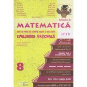 Indrumator de Matematica: Teste tip CNEE din materia claselor V-VIII pentru Evaluarea Nationala, Editura: Caba, Autori: Gina Caba, Apostol Constantin ISBN 978-606-8537-90-0 )
