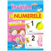 Invatam prin joc: Numerele ( Editura: Aramis, ISBN 978-606-706-253-3 )