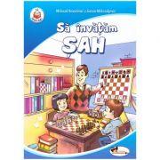 Sa invatam sah ( editura: Aramis, autori: Milorad Kovacevic si Goran Milisavljevic ISBN 978-606-706-595-4 )