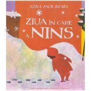 Ziua in care a nins ( editura: Arthur, autor: Ezra Jack Keats ISBN 978-606-788-271-1 )