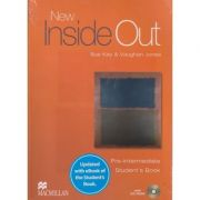 New inside out Pre Intermediate Student's Book with CD-ROM Updated with eBook ( Editura: Macmillan, Autor: Sue Kay, Vaughan Jones ISBN 978-1-78632-734-5 )