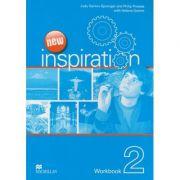 New Inspiration 2 Workbook ( Editura: Macmillan, Autor (i): Judy Garton-Sprenger, Philip Prowse, Helena Gomm ISBN 978-0-230-1255-2 )