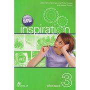New Inspiration 3 Workbook ( Editura: Macmillan, Autor ( i): Judy Garton-Sprenger, Philip Prowse, Helena Gomm ISBN 978-0-230-41256-9 )