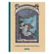O serie de evenimente nefericite III. Fereastra Fantastica ( Editura: Arthur, Autor: Lemony Snicket, ISBN 978-606-7882-018 )