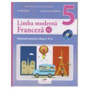 Limba moderna Franceza L2. Manual pentru clasa a V-a ( Editura: CD Press, Autori: Ion Farcasanu, Angela-Gabriela Lapadatu ISBN 978-606-528-369-5 )