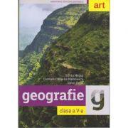 Geografie Manual pentru clasa a V-a ( Editura: Art Grup editorial, Autor: Silviu Negut, Carmen Camelia Radulescu, Ionut Popa ISBN 978-606-710-497-4 )