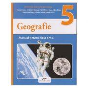 Geografie Manual pentru clasa a V-a ( Editura: CD Press, Autori: Marius Cristian Neacsu, Mihaela Fiscutean, Gelu Hanganu, Ciprian Mihai, Ionela Popa ISBN 978-606-528-385-5 )