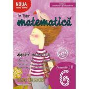 Matematica - Initiere: Algebra, Geometrie. Caiet de lucru Clasa a VI-a Semestrul 2 ( Editura: Paralela 45, Autor: Ion Tudor, ISBN 9789734726813 )