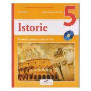 Istorie. Manual pentru clasa a V-a ( Editura: CD Press, Autori: Stan Stoica, Dragos Sebastian Becheru ISBN 978-606--528-365-7 )