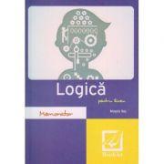 Memorator de logica pentru liceu ( Editura: Booklet, Autor: Magda Ilas ISBN 978-606-590-324-1 )
