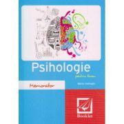 Memorator de psihologie pentru liceu ( Editura: Booklet, Autor: Maria Halmaghi ISBN 978-606-590-319-7 )