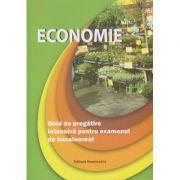 Economie. Ghid de pregatire intensiva pentru examenul de bacalaureat ( Editura: Nominatrix, Autori: Floriana Pana, Ida Mihaela Sibana ISBN 9786068873107 )