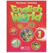 English World 1 Pupil's Book with eBook ( Editura: Macmillan Education, Autori: Mary Bowen, Liz Hocking ISBN 978-1-786-32705-5 )
