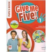 Give Me Five! 1 Pupil's Book ( Editura: Macmillan Education, Autori: Donna Shaw, Joanne Ramsden ISBN 978-1-380-01348-4 )