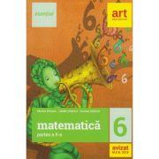 Matematica clasa a 6-a semestrul al II-lea Esential ( Editura: Art Grup Editorial, Autori: Marius Perianu, Catalin Stanica, Daniela Stanica ISBN 978-606-8954-12-7) ( Editura: Vellant, Autor: Catherine Millet, ISBN 978-606-980-013-3 )