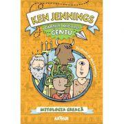Cartile micului geniu Mitologia greaca ilustrata ( Editura: Art grup editorial, Autor: Ken Jennings, ISBN 9786068620589 )