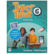 Tiger Time 6 Student's Book with eBook ( Editura: Macmillan Education, Autori: Carol Read, Mark Ormerod ISBN 978-1-78632-969-1)