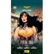 Wonder Woman. Terra Unu. Volumul 1 ( Editura: Art Grup editorial, Autor: Grant Morrison ISBN 978-606-710-513-1 )