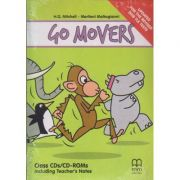 Go Movers Class CDs/CD-ROMs. Including Techer's Notes. Updates For The Revised 2018 YLE Tests ( editura: MM Publications, autori: H. Q. Mitchell, Marileni Malkogianni, ISBN 978-618-05-1967-9 )