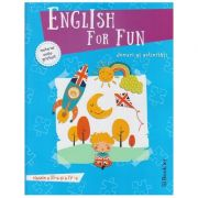Englih for Fun clasele 3 si 4 + material audio gratuit ( Editura: Booklet ISBN 978-606-590-560-3 )