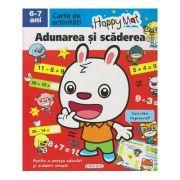 Happy Mat, carte de activitati, Adunarea si Scaderea 6-7 ani ( Editura: Girasol ISBN 978-606-525-881-5 )