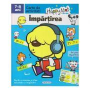 Happy Mat, carte de activitati, Impartirea 7-8 ani ( Editura: Girasol ISBN 978-606-525-884-6 )