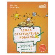 Limba si literatura romana Caiet de lucru pentru clasa a IV-a Semestrul I ( Editura: Art Grup Editorial, Autor: Alina Jeler ISBN 978-606-710-380-9 )