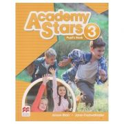 Academy Stars 3 Pupil's Book (Editura: Macmillan, Autor(i): Alison Blair, Jane Cadwallader ISBN 978-0-230-49001-7 )