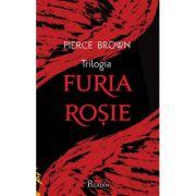 Furia rosie. Furia aurie. Furia dimineatii Caseta ( Editura: Paladin Autor: Pierce Brown ISBN 7896063768284 )