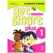 Get Smart Plus 1 Student's Book British Edition ( editura: MM Publications, autori: H. Q. Mitchell, Marileni Malkogianni, ISBN 978-618-05-2149-8)