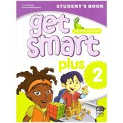 Get Smart Plus 2 Student's Book British Edition ( editura: MM Publications, autori: H. Q. Mitchell, Marileni Malkogianni, ISBN 978-618-05-2151-1)