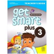 Get Smart Plus 3 Teacher's Book British Edition ( editura: MM Publications, autori: H. Q. Mitchell, Marileni Malkogianni, ISBN 978-618-05-2225-9)