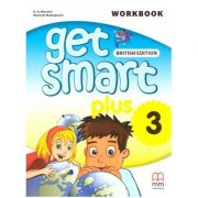 Get Smart Plus 3 Workbook + CD-ROM British Edition ( editura: MM Publications, autori: H. Q. Mitchell, Marileni Malkogianni, ISBN 978-618-05-2226-6)