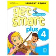 Get Smart Plus 4 Student's Book British Edition ( editura: MM Publications, autori: H. Q. Mitchell, Marileni Malkogianni, ISBN 978-618-05-2153-5)