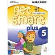 Get Smart Plus 5 Workbook + CD-ROM British Edition ( editura: MM Publications, autori: H. Q. Mitchell, Marileni Malkogianni, ISBN 978-618-05-2229-7)