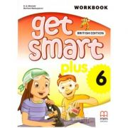 Get Smart Plus 6 Workbook + CD-ROM British Edition ( editura: MM Publications, autori: H. Q. Mitchell, Marileni Malkogianni, ISBN 978-618-05-2231-0)