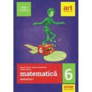 Clubul Matematicienilor clasa a 6 a semestrul 1 2018 ( Editura: Art, Autor: Marius Perianu ISBN 9786060030263 )