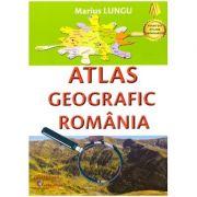 Atlas geografic Romania (Editura: Carta Atlas, Autor: Marius Lungu ISBN 978-606-8911-23-6 )