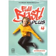 Full Blast Plus 4 - Workbook ( Editura: MM Publications, Autori: H. Q. Mitchell, Marileni Malkogianni ISBN 978-618-05-2134-4 )