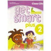 Get Smart Plus 2 British Version Class CDs ( editura: MM Publications, autori: H. Q. Mitchell, Marileni Malkogianni, ISBN 9786180522440)
