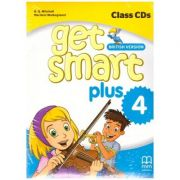 Get Smart Plus 4 British Version Class CDs ( editura: MM Publications, autori: H. Q. Mitchell, Marileni Malkogianni ISBN 9786180522525)