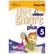 Get Smart Plus 5 British Version. Class CDs ( editura: MM Publications, autori: H. Q. Mitchell, Marileni Malkogianni ISBN 9786180522563)