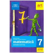 Clubul Matematicienilor clasa a 7 a semestrul 2, 2018 ( Editura: Art, Autori: Marius Perianu, Ioan Balica ISBN 9786069448830 )