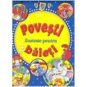 Povesti ilustrate pentru baieti ( Editura: Flamingo Junior ISBN 978-606-8555-27-0 )