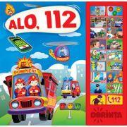 Alo, 112. Carte cu sunete ( Editura: Dorinta ISBN 9789975143257)