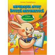 Iepurasul istet invata matematica. Clasa pregatitoare (editura Carminis, Autor: Carmen Trandafirescu ISBN 978-973-123-295-9)