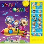Spatiul Cosmic. Carte cu sunete ( Editura: Dorinta ISBN 9789975143295)