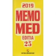 Memomed 2019/ Editia 25(Editura: Universitara ISSN 20692447)